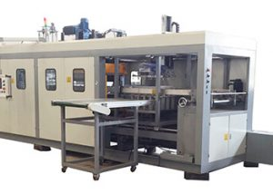 Fully Automatic Negative Pressure Multi station Vacuum Thermoforming Machine