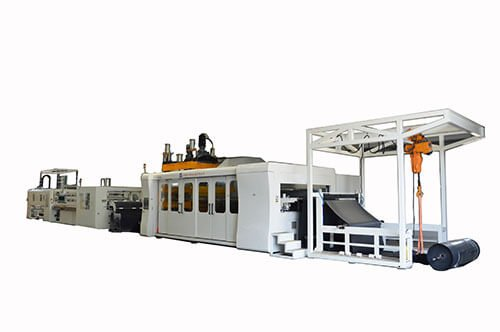 Automatic Cooling Tower Filling Vacuum Forming machine