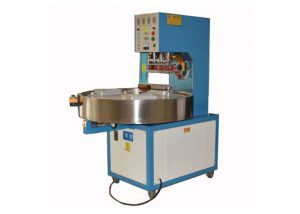 Automatic-three-to-six-station-turntable-high-frequency-welding-machine