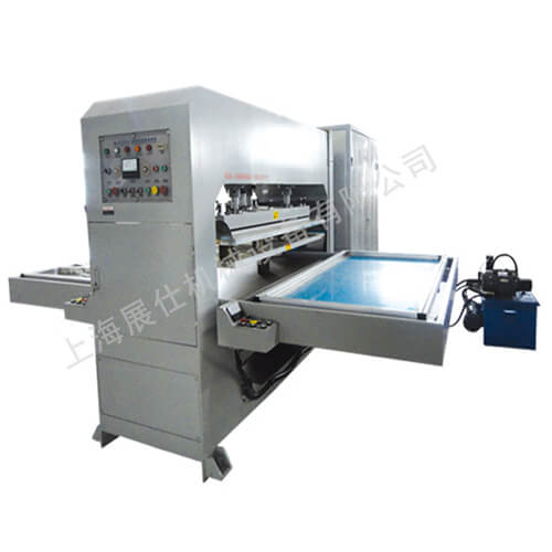 Automotive door panel and pad high frequency welding machine