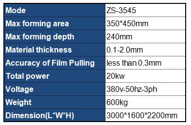 Counter Point Color Printing Vacuum Forming Machine Datasheet Datasheet