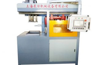Counter point color printing vacuum forming machine