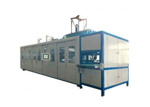 Fully Automatic Double sheet (Twin sheet) Car's Vent Pipe Vacuum Forming Machine