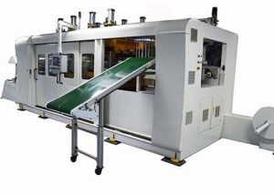 Fully Automatic Positive and Negative Pressure Multi station Vacuum Forming Machine