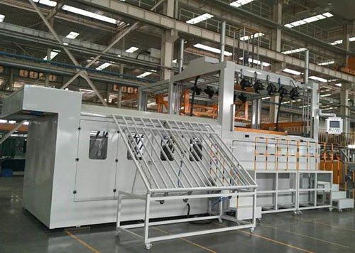 Fully Automatic thick sheet thermoforming machine