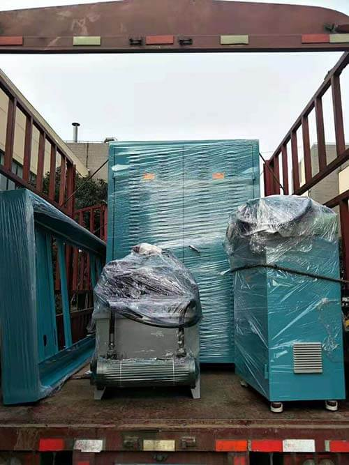 High cycle embossing machine delivery