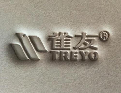 High frequency logo embossing