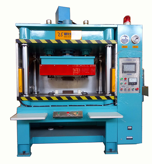 High frequency welding machine for sun shading visor board