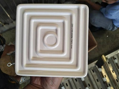 Infrared ceramic heating brick