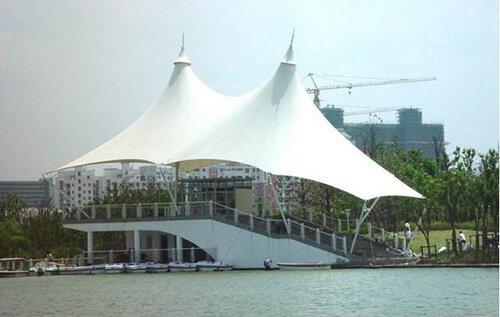 Landscape tent PVC film