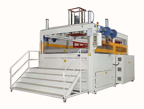 Manual Feeding Thick Sheet Thermoforming Machine