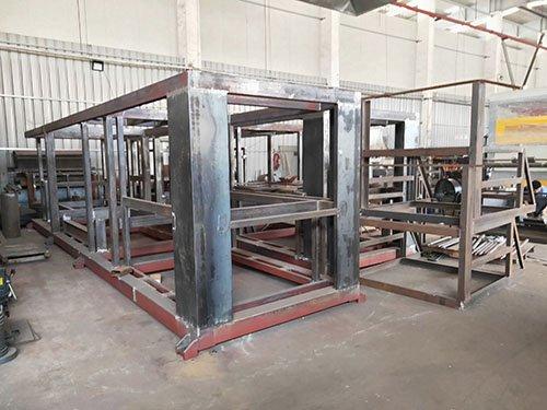 Mold frame welding
