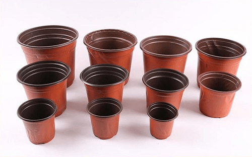 Multi layer coextrusion flower pot