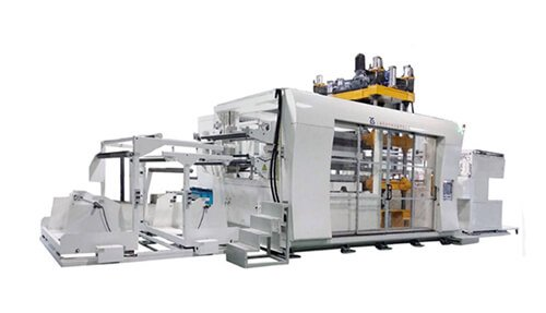 Non Woven Fabric hot pressing thermoforming machine