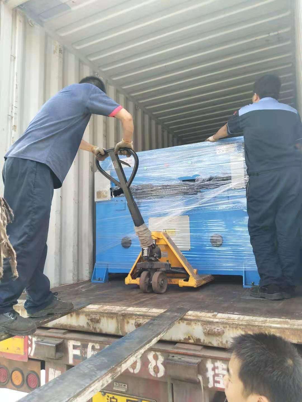 Precision Four Post hydraulic Cutting Machine (2)