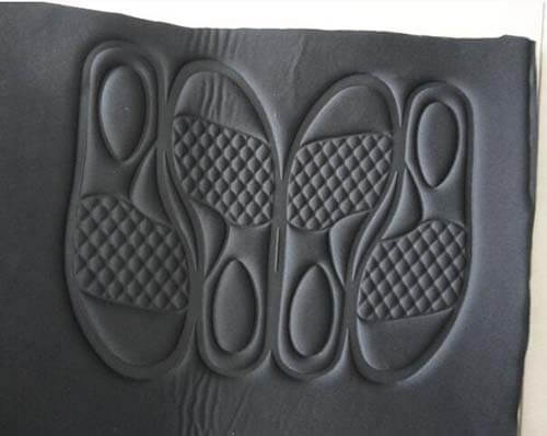 Shoe embossing 3D modeling