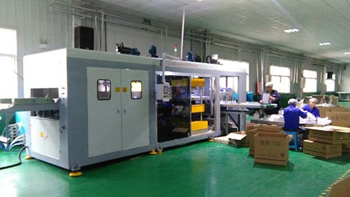 Thermoforming machine department