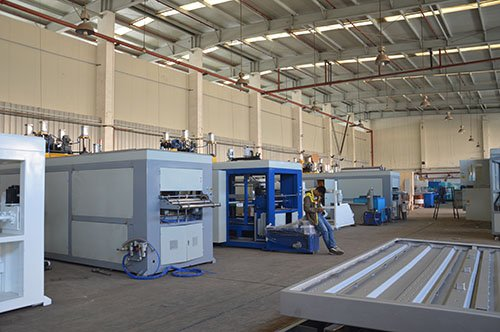Thermoforming machine manufacturing shop