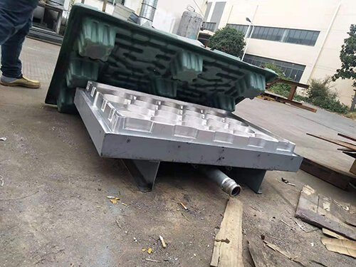 thick sheet forming mold
