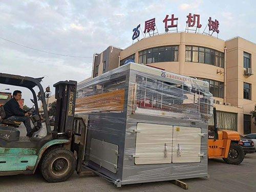 thick sheet thermoforming machine ship to vietnam