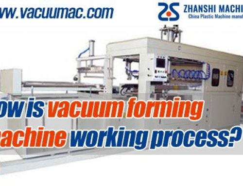 How is vacuum forming machine working process?